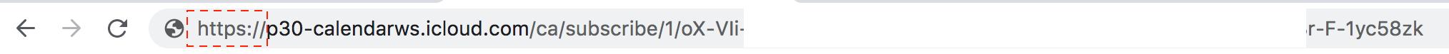 iCloud url ändern https