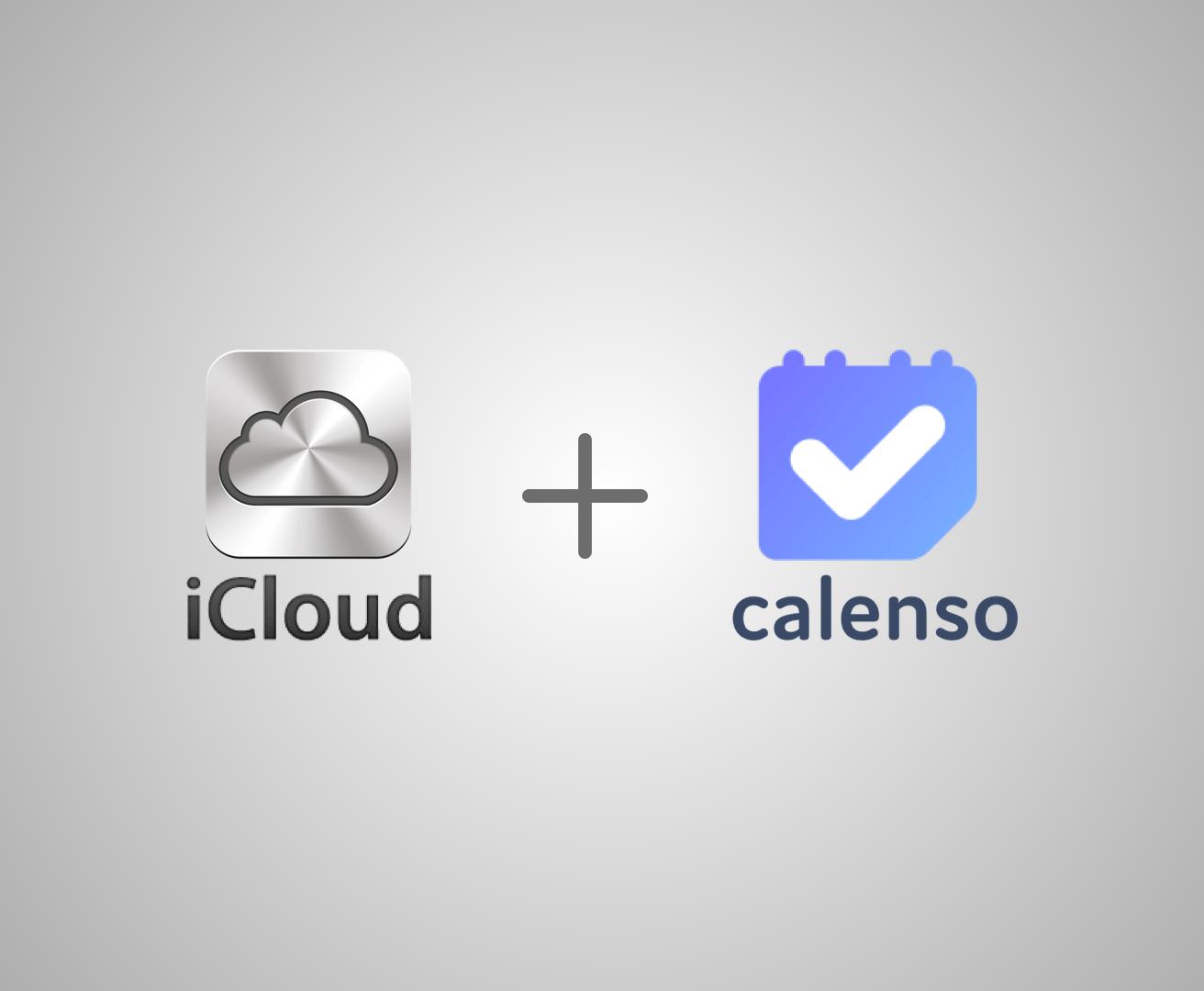 iCloud plus Calenso Logos