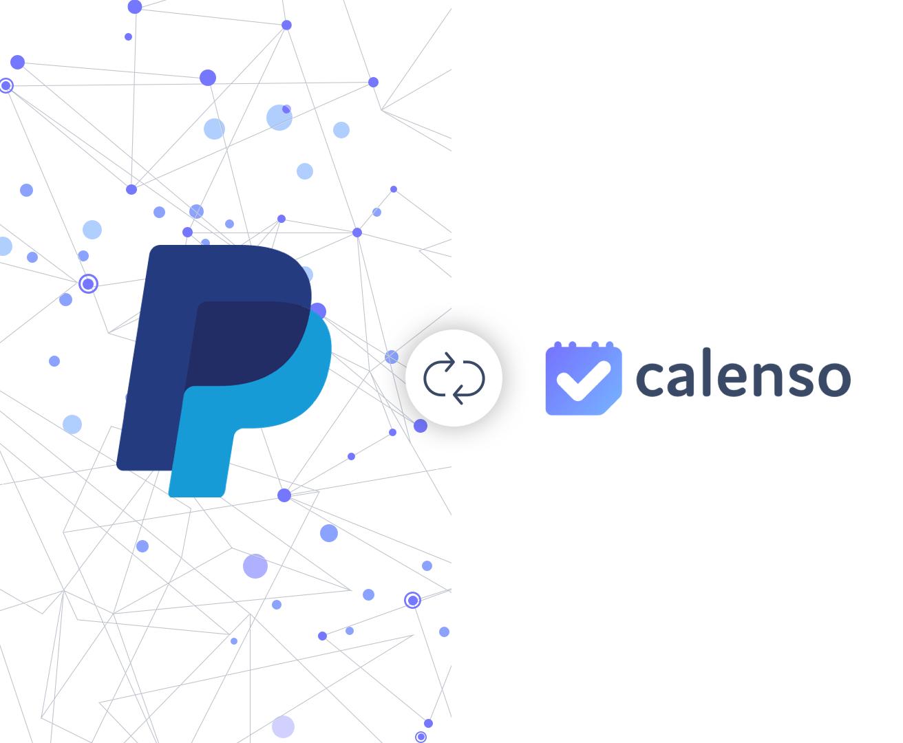 PayPal kann nun mit Calenso verbunden werden