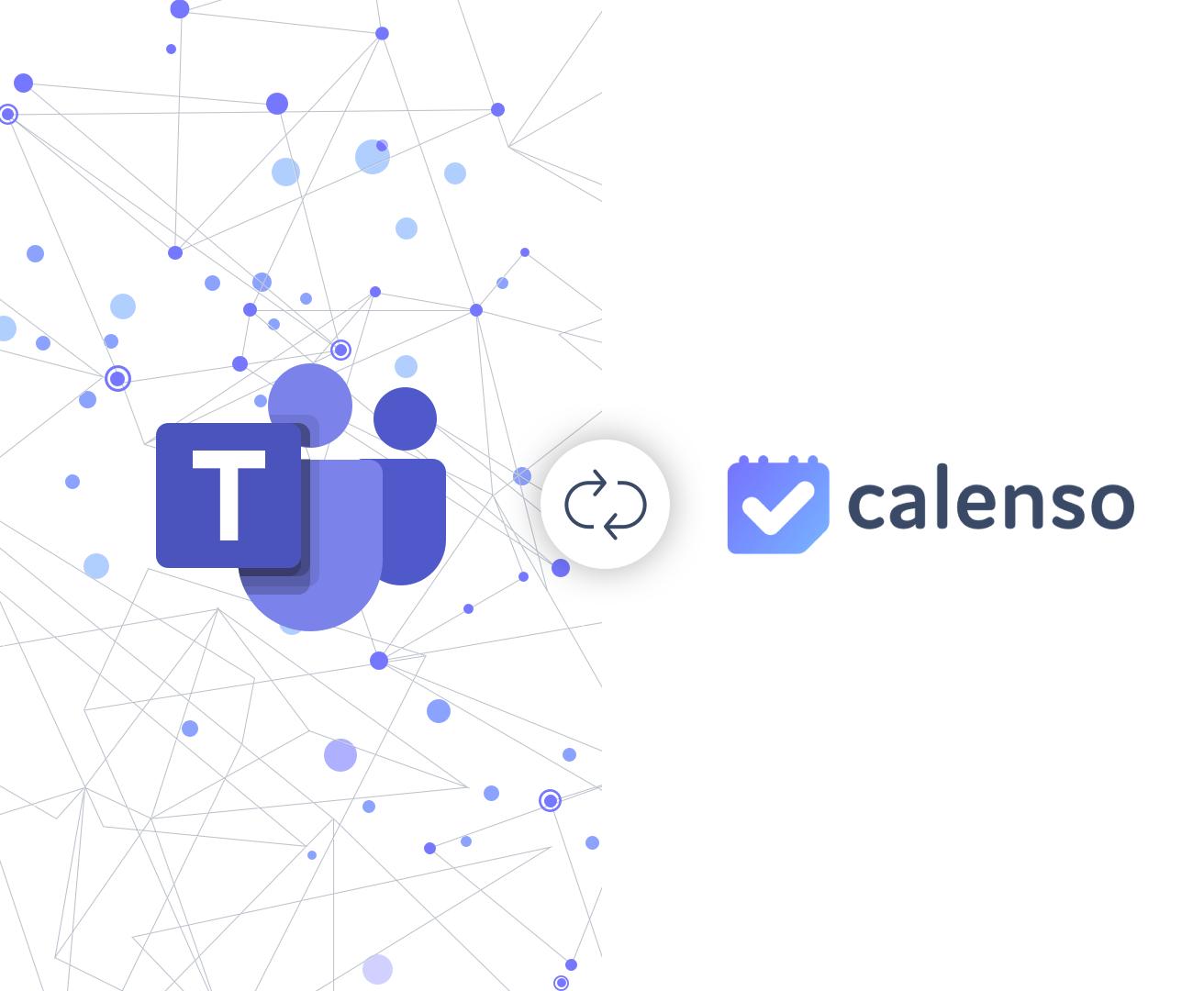 Microsoft Teams and Calenso